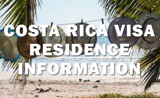 Obtaining Your Visa or Residence in Costa Rica
